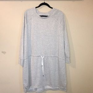STUDIO BY ENERGY ZONE GRAY PULLOVER TOP/DRESS 2XL